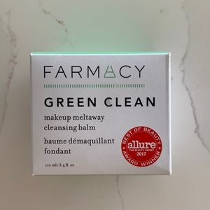 New Unopened Farmacy Green Clean makeup remover